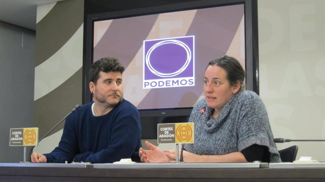 Nacho Escartín y Marta de Santos.