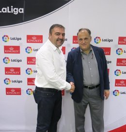 Roger Diniz y Javier Tebas
