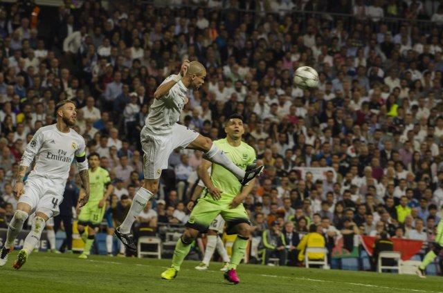 Pepe en el Real Madrid - Manchester City