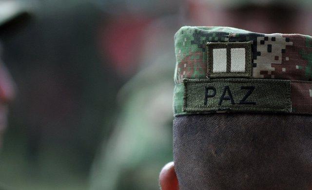 SOLDADO PAZ COLOMBIA FARC