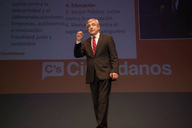 El economista de Ciudadanos Luis Garicano