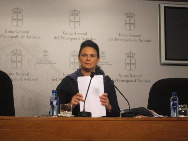 La diputada de Ciudadanos, Diana Sánchez.