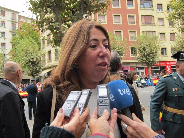 La delegada del Gobierno en Navarra, Carmen Alba