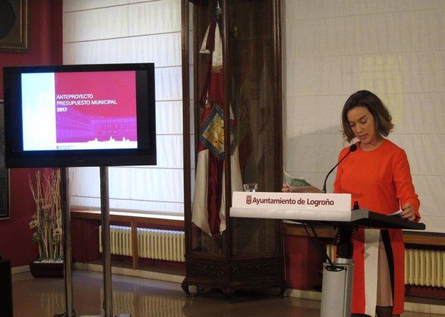 Gamarra, en la presentación de los Presupuestos 2017