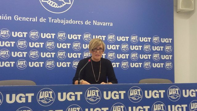 Maribel Vicente, secretaria de Política Sindical de UGT Navarra