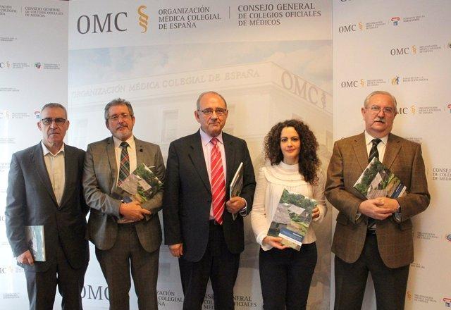 Presentación del anuario de la Fundación de Colegios Médicos para la Cooperación