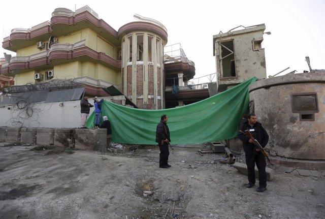 Atentado en la embajada de España en Afganistán, en Kabul