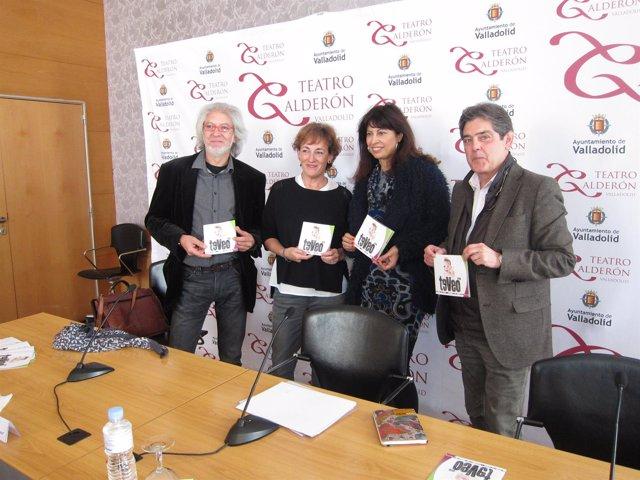 Jacinto Gómez, Ana Isabel Gallego, Ana Redondo y José María Viteri