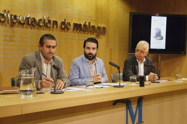 Presentación en la Diputación del primer mercado moscatel Almáchar Florido