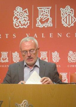 , Antonio Montiel, en la rueda de prensa