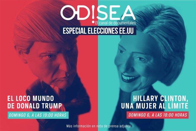 Especial Elecciones EE.UU. Canal Odisea