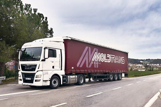 Camión de Moldtrans