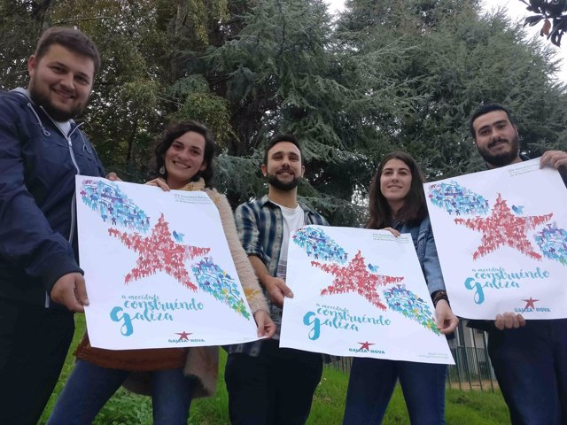 Alberte Mera presenta la XIV Asemblea Nacional de Galiza Nova
