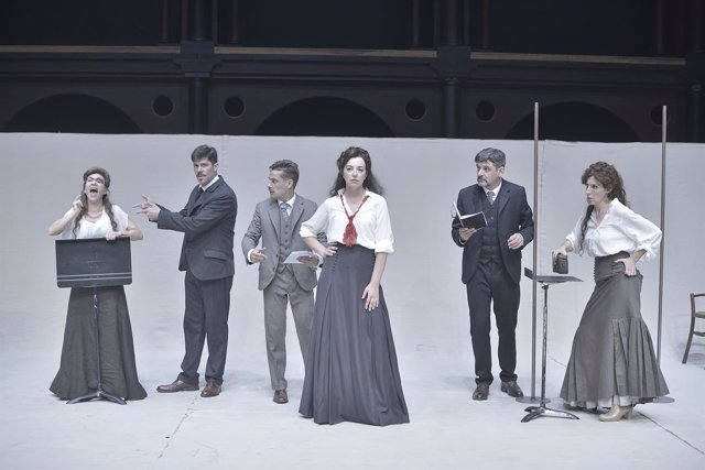 Escena de la obra de 'Premios y castigos'