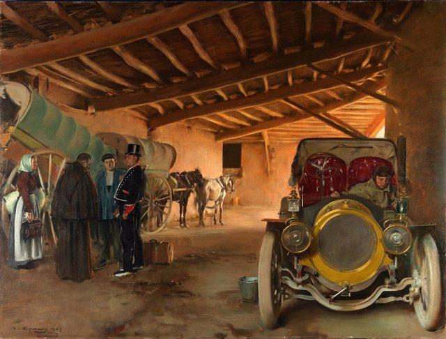 'La Cochera', De Ramon Casas