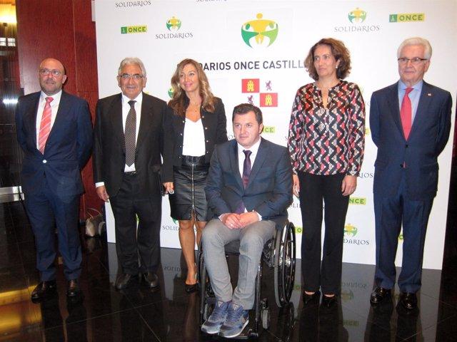 Los premiados por la ONCE en su edición de 2016.