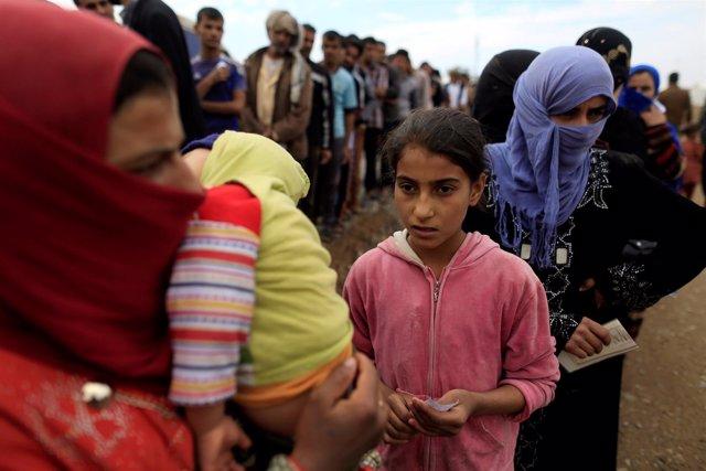 Campamento para desplazados internos de Jazer
