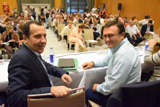 Miguel Ángel Heredia y José Luis Ruiz Espejo