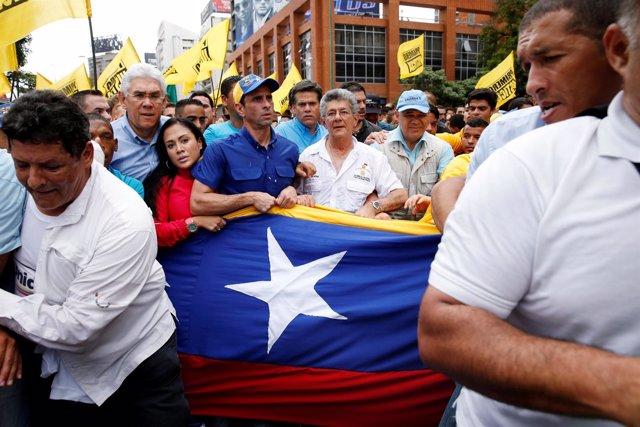 El opositor Henrique Capriles