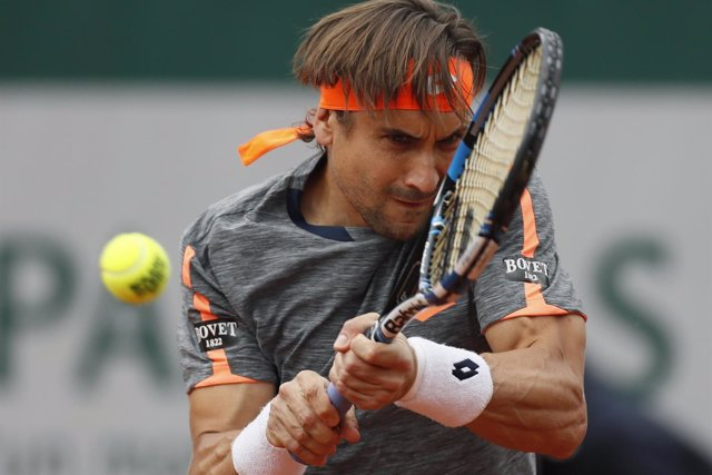 David Ferrer en Roland Garros 2016
