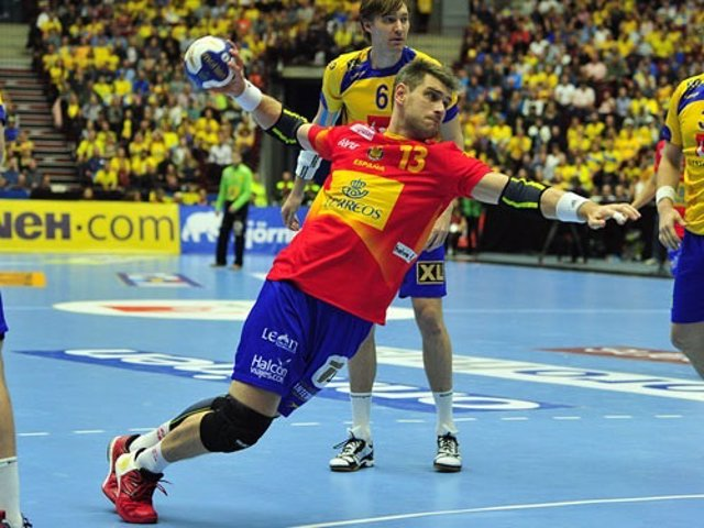 Julen Aguinagalde con la selección española