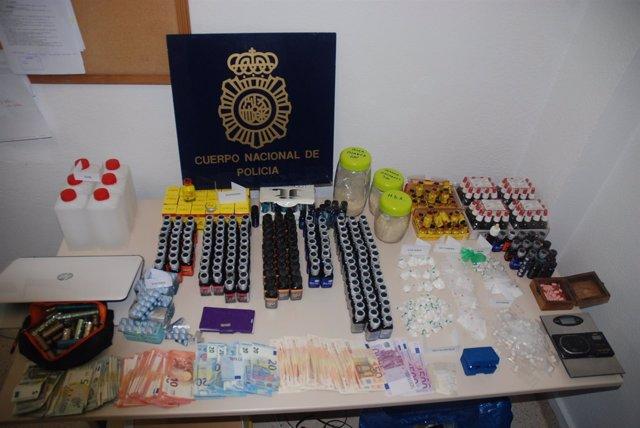 Alijo drogas torremolinos incautado operación policía nacional