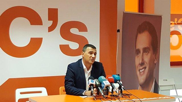 El portavoz económico de Ciudadanos en el Parlamento andaluz, Carlos Hernández