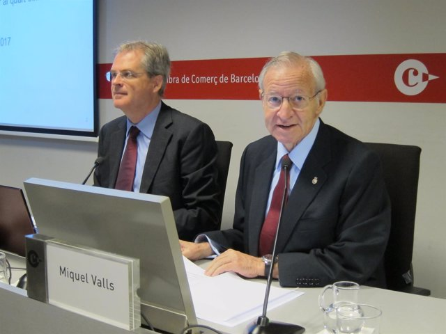 Joan Ramon Rovira y Miquel Valls (Cámara de Barcelona)