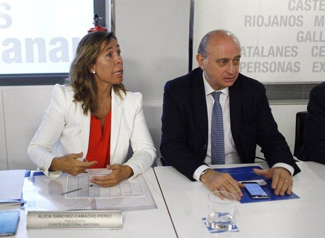 Sánchez-Camacho y Jorge Fernández Díaz