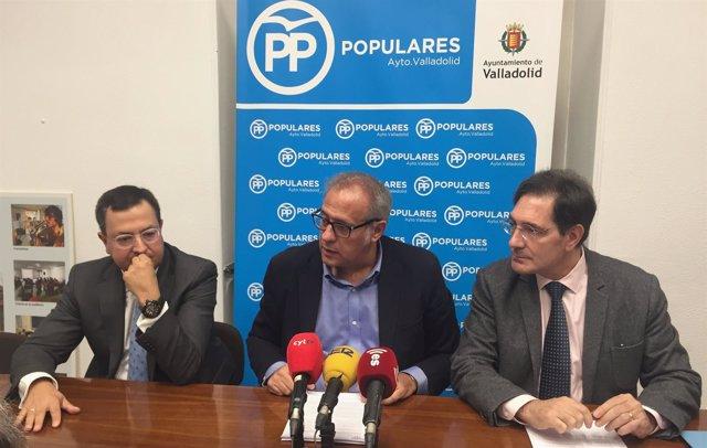 Presentación de las mociones del Grupo Municipal Popular