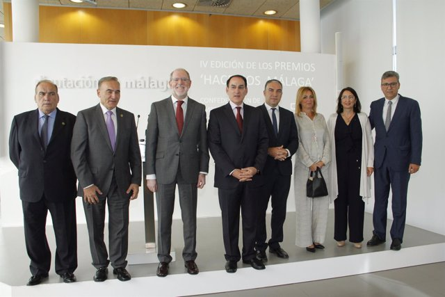 Premiados ¡Hacemos Málaga 2016' Maskom, Lafuente, Fundación Mapfre, Ritwaggen