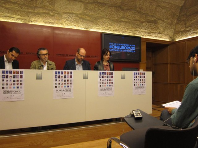 Presentación de la 30 edición de Cineuropa.
