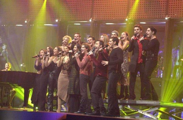 Operación Triunfo 1, Mi música es tu voz