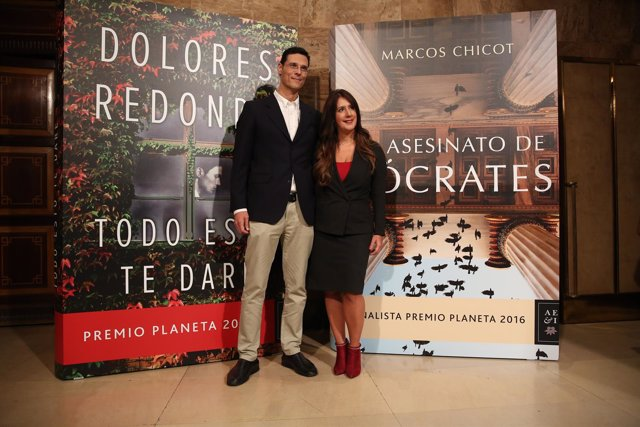 Presentación de las obras ganadoras del premio Planeta