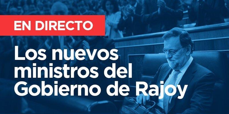 Ministros del nuevo gobierno de rajoy 2016 directo for Ministros del gobierno
