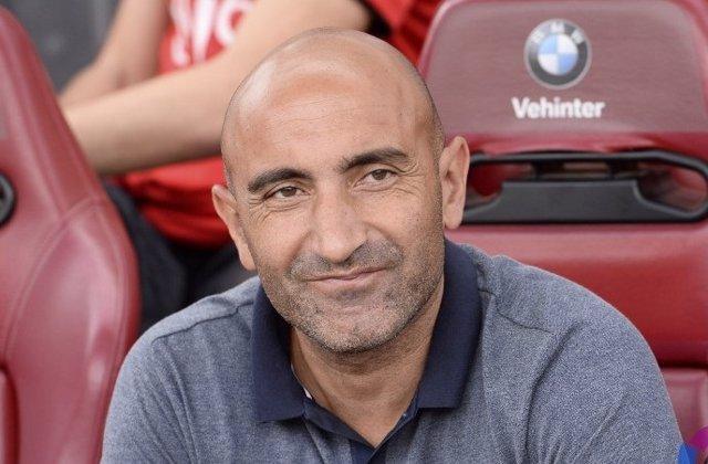 Abelardo Fernández, entrenador del Sporting de Gijón