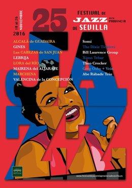 Cartel del Festival de Jazz de la Provincia