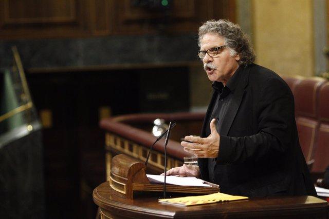 Joan Tardá en el debate de investidura en el Congreso