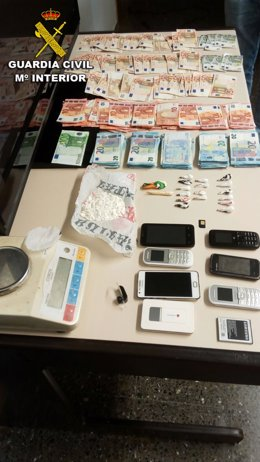 Operación tragaperras por tráfico de drogas en Nigrán.