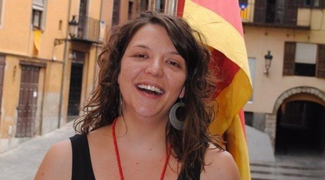 La alcaldesa de Berga, Montse Venturós