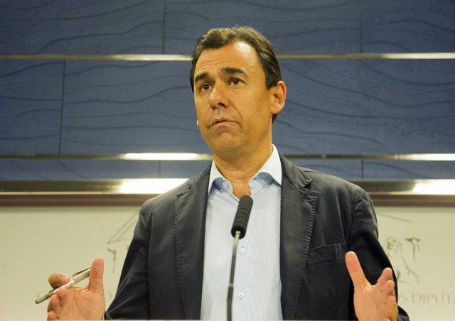 Rueda de prensa de Maillo tras la reunión PP-Ciudadanos