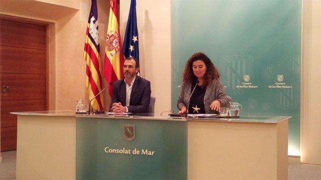 Rueda de prensa tras el Consell de Govern
