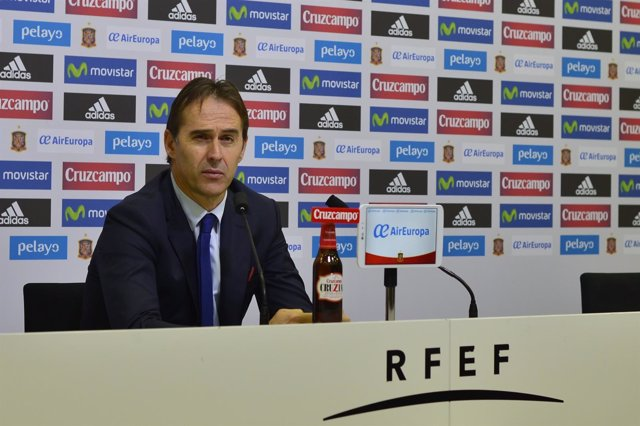 Julen Lopetegui, seleccionador español