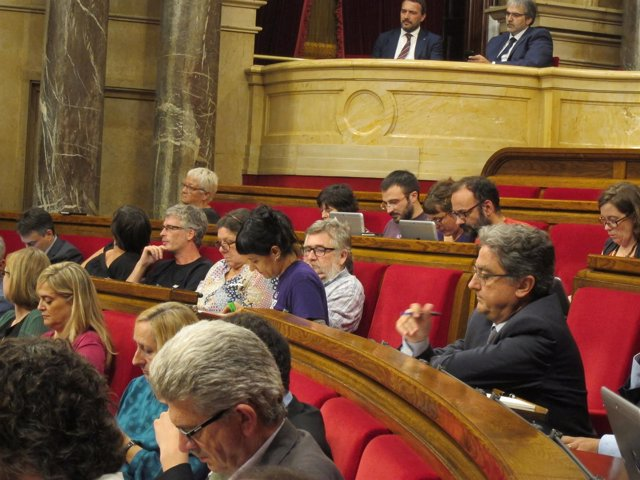 La CUP en el Parlament