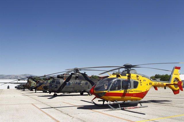 Helicóptero de la UME, Unidad Militar de Emergencia