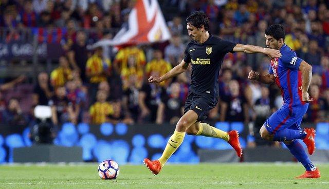 Savic Atlético de Madrid contra Barcelona