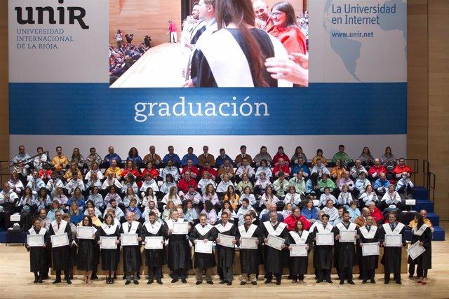 Graduación UNIR de mayo 2016