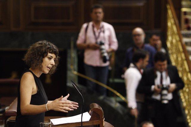 Alexandra Fernández, de En Marea, en el Congreso