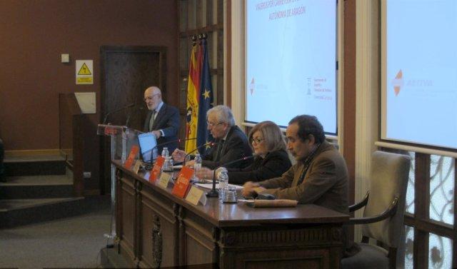 Presentación del estudio en la Cámara de Comercio.
