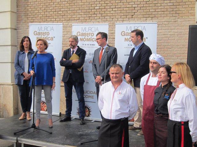 Imagen de la presentación de 'Murcia Gastronómica'